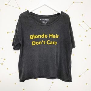 Amuse Society • Blonde Hair Don't Care Graphic Tee